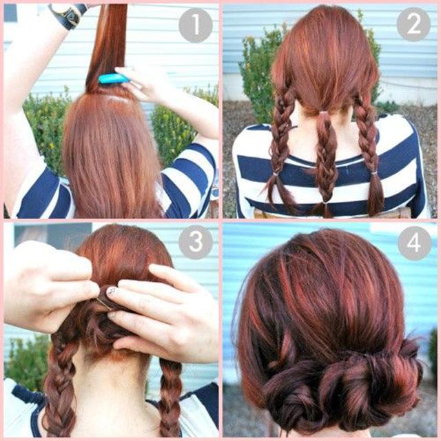 Crown braid tutorial pinterest braids: celeb-inspired hairstyles.