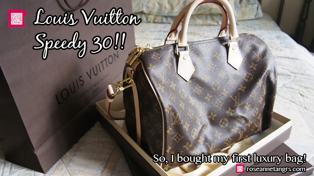 e6405b587000 Louis Vuitton Speedy 30 Bag