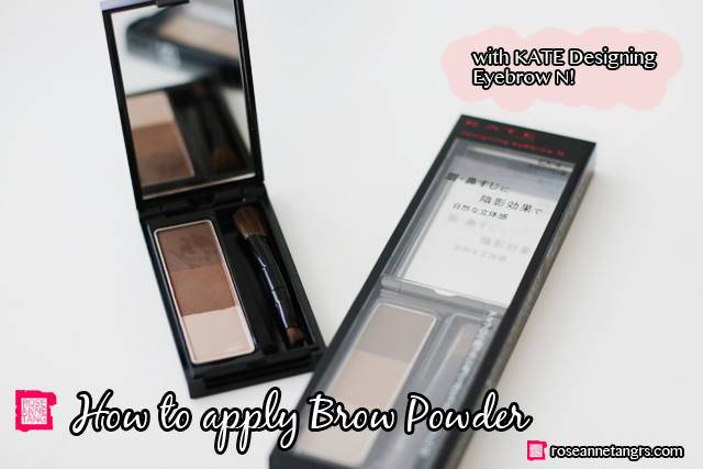 howtoapply brow powder